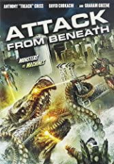 ATTACK FROM BENEATH DVD Movie
