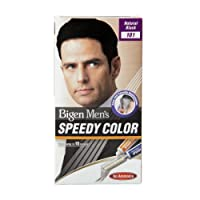 Bigen Men's Speedy Color, Natural Black 101 (40g + 40g)
