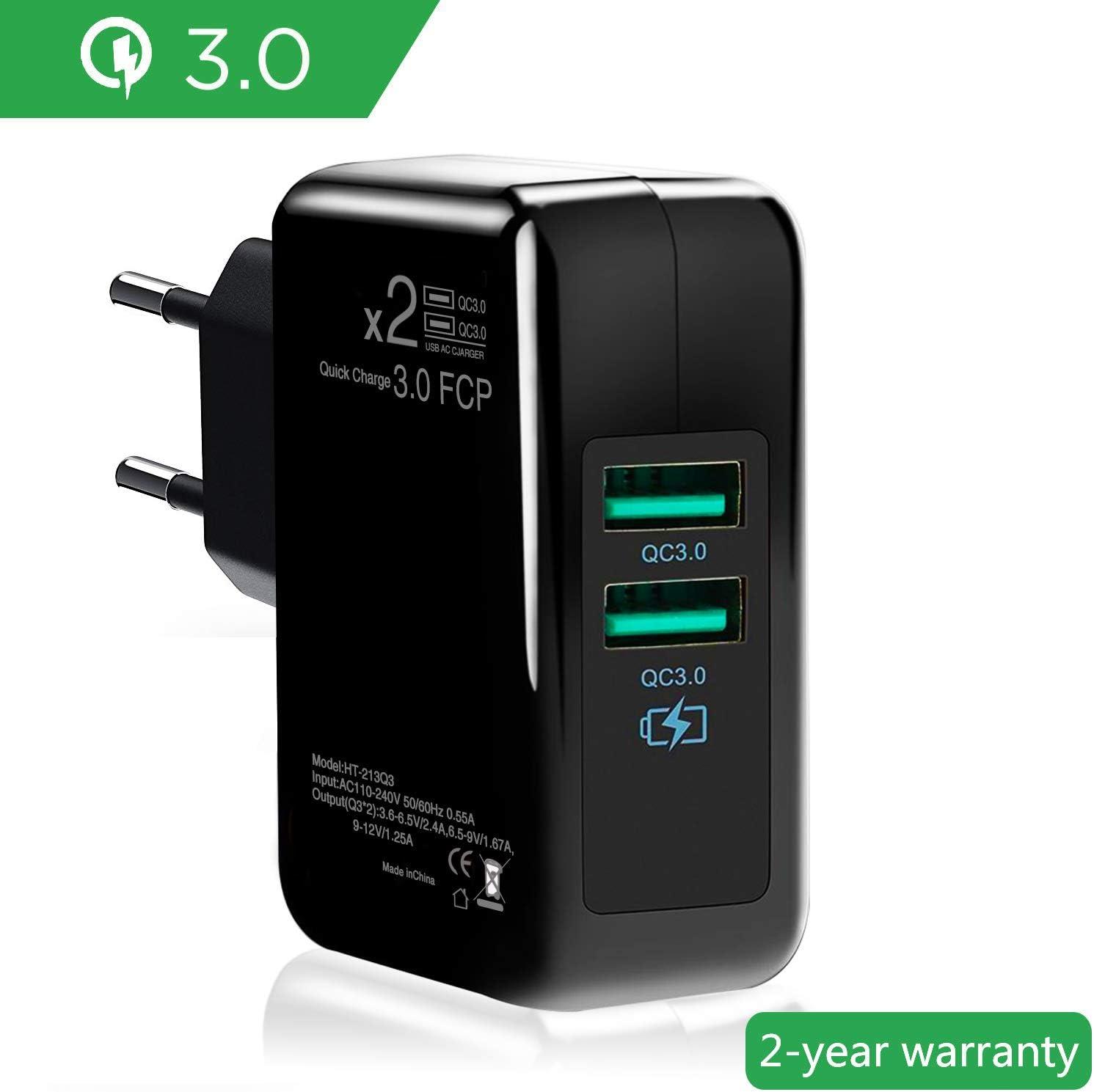 2qc3 0 Usb Ladegerät Quick Charge3 0 Netzteil Elektronik