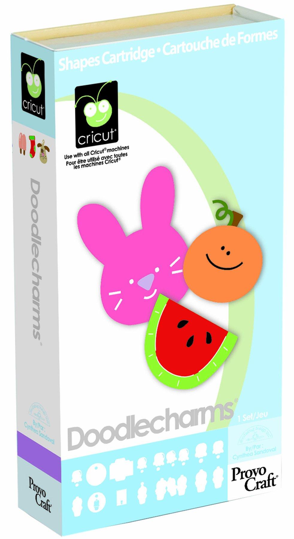 Cricut Doodlecharm Cartridge, 50 Assorted Designs product image
