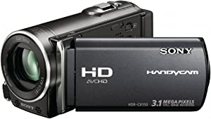 Sony HDR-CX150 16GB High Definition Handycam Camcorder (Black) (Discontinued by Manufacturer)
