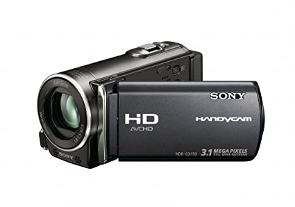 amazon com sony hdr cx150 16gb high definition handycam camcorder rh amazon com Sony Camcorder HDR-CX150 sony handycam hdr cx130 manual