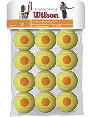 Wilson Tennisbälle, Starter , 12er Pack, Für Kinder