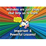 Motivational A3 Poster - ' Moods Mistakes ' - Wise Behaviour Programme