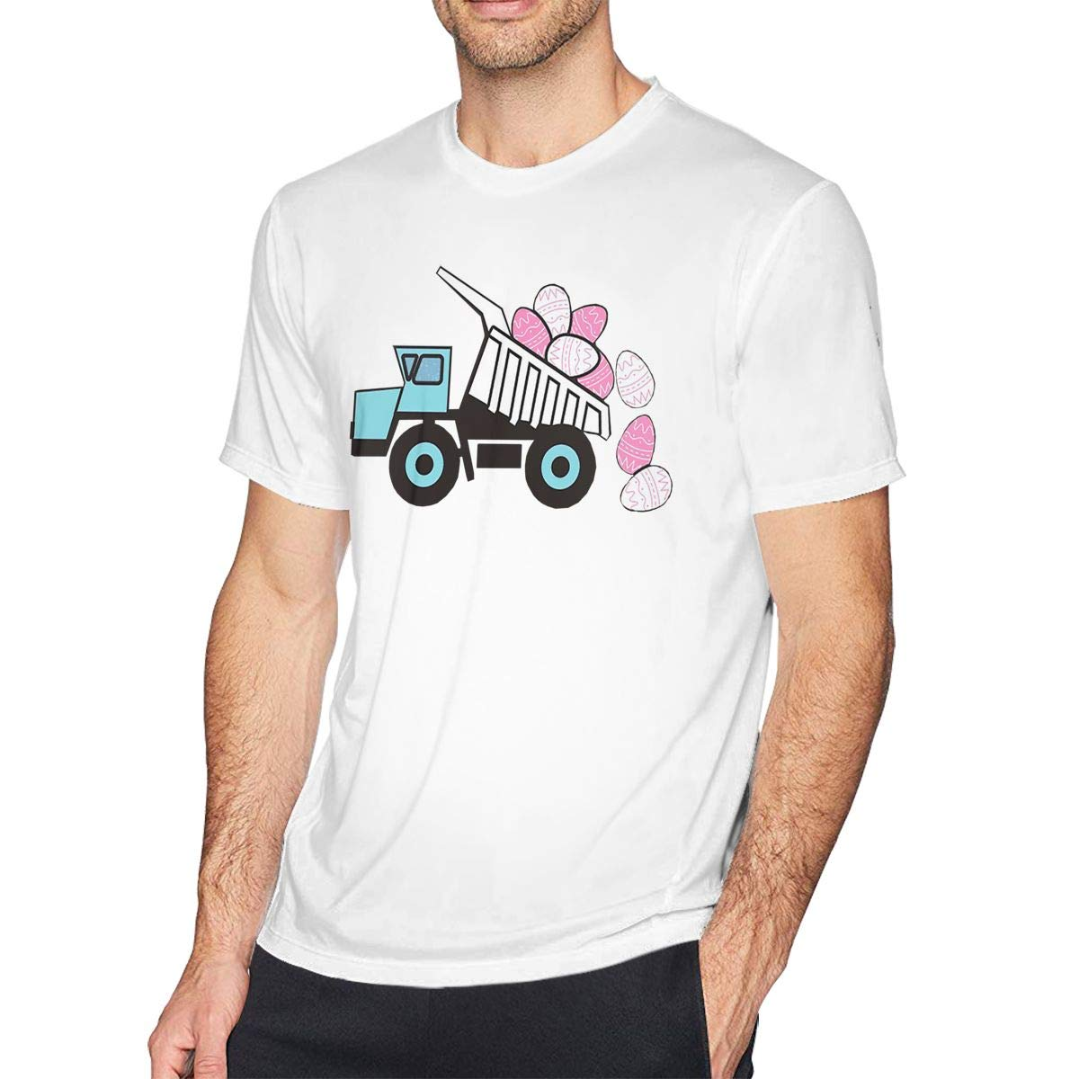Lucky Star Mens Easter Casual Tee