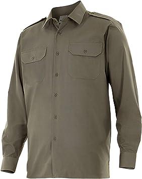Velilla P53033Xl - Camisa uniforme manga larga: Amazon.es ...