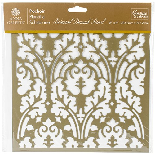 Artdeco Creations CO724884 Arabesque Stencil 8
