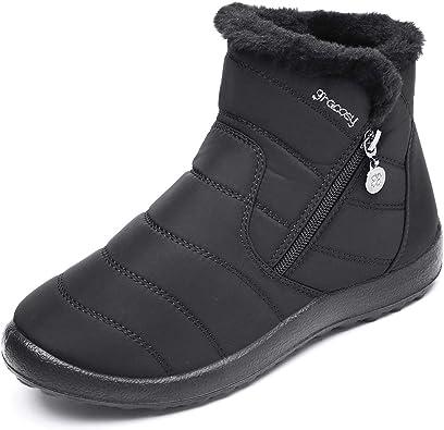 Botas De Mujer Zapatos De Invierno Botines Para Mujer Zapatos De Nieve 2019
