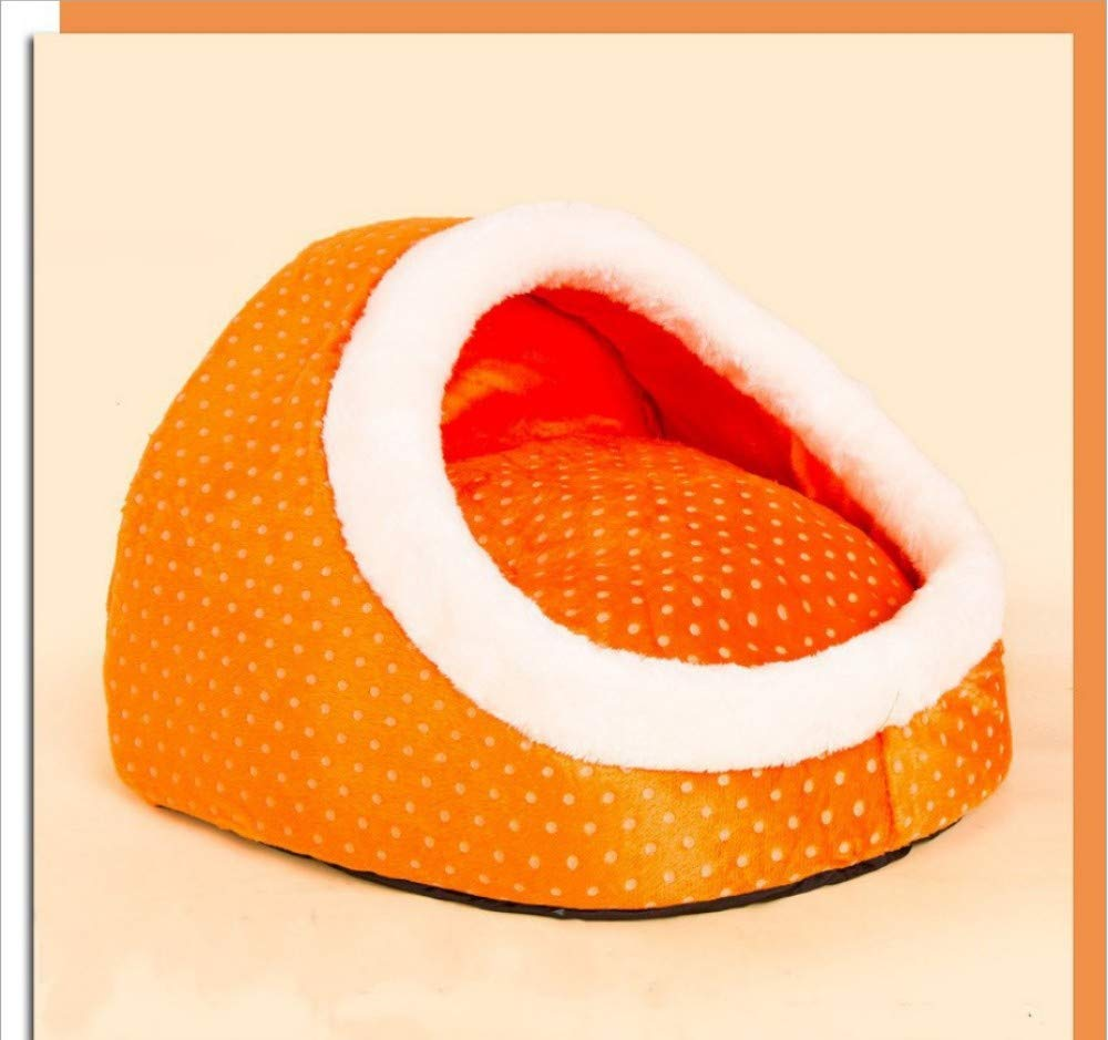 GZDXHN Dog House Egg-Shaped Removable And Washable Small Dog Teddy Kennel Cat Nest Than Bear Pet Dog House Autumn And Winter Dog House