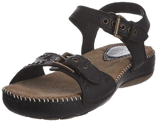 0df044b24f8b1 Sandalias H25556000 Hush es Puppies color Zapatos cuero 43 talla Amazon  negro para mujer complementos de ...
