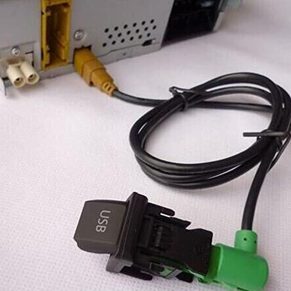 Baaqii Auto Audio Usb Kabel Schalter Für Rcd510 310 Rns315 Vw Golf Jetta Mk5 6 Scirocco Auto