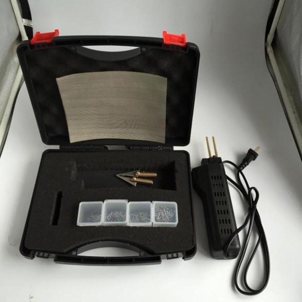 Binglinghua 110V/220V Hot Stapler Car Bumper Fender Fairing Welder Gun Plastic Repair Kit 200 Staples by Binglinghua® (Image #3)