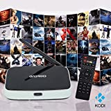 HONGTOP® CS918 Quad Core Smart TV Box 2GB/32GB Android 4.4 Player Kodi16.0 Full HDMI 1080P with Remote Control 2.4G Wi-Fi Streaming Media Player