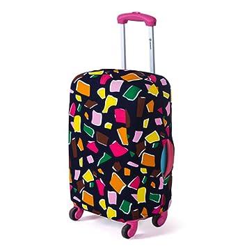 kstn88 EMVANV Maleta Fundas Protectoras de Viaje para Maletas elásticas para Equipaje (S, Poligonal Colorido) (polígono Colorido): Amazon.es: Hogar