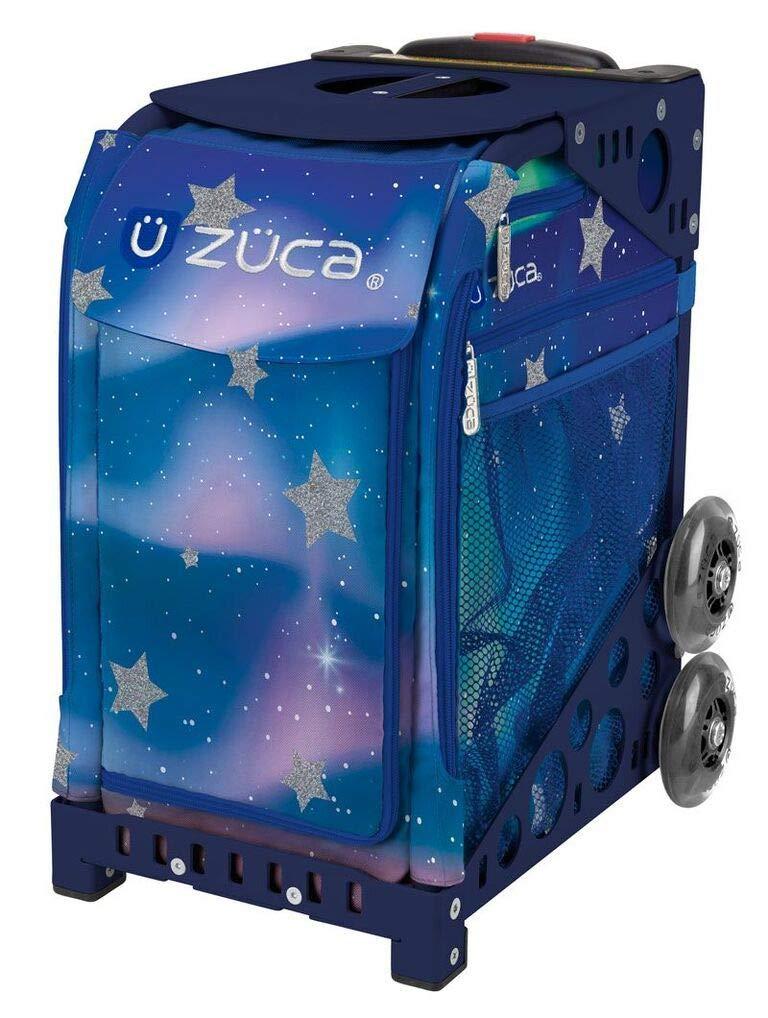 ZUCA Aurora Sport Insert Bag and Navy Frame with Flashing Wheels