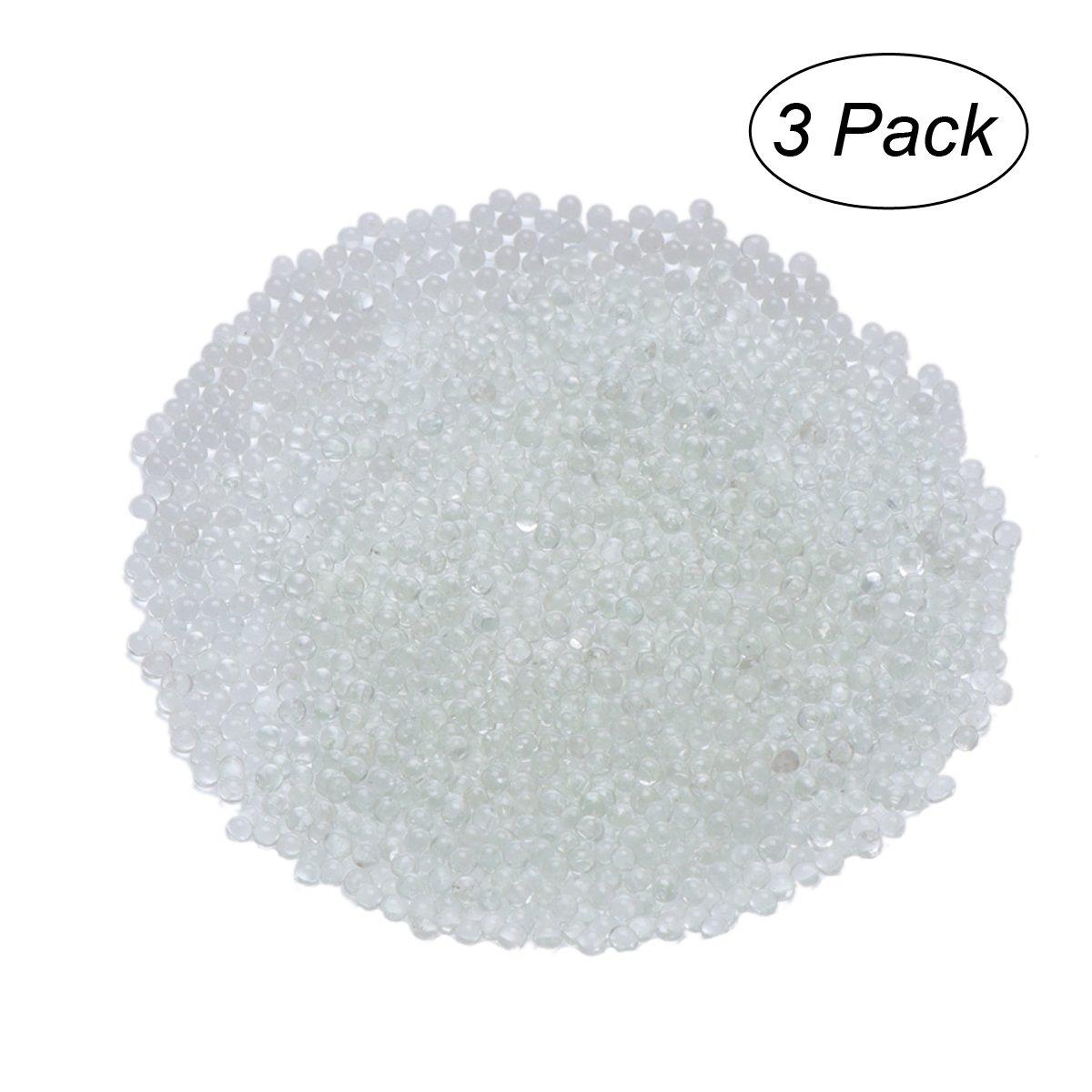 ROSENICE Fishbowl Beads Jarrón Relleno Perlas para Crunchy Slime Decorativo Del Grano Artes Artesanía DIY Suministros 3PCS: Amazon.es: Hogar
