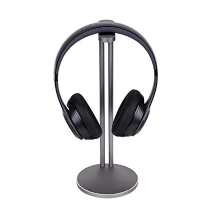 Universal Aluminum Headphone Stand Holder, Generic Modern Fashion Headset Holder / Desk Display Hanger /