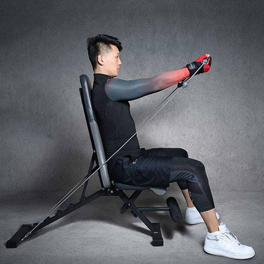 54x45x15inch Adjustable Bench,Multifunctional Weight Bench,Professional Foldable Bench Press A 138x115x39cm