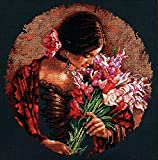 Dimensions Crafts 70-35315 Summer Fragrance Counted Cross Stitch Kit