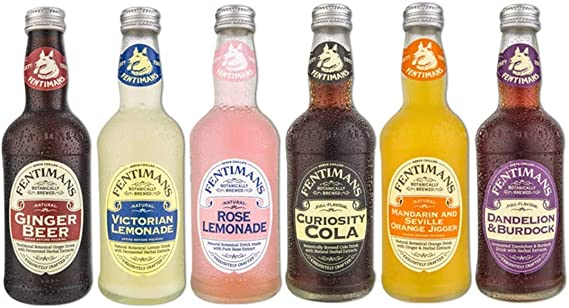 Fentimans Fizzy Drinks Mixed Selection Pack (12 x 275ml ...