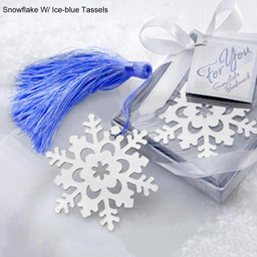 Amazon.com: Fashion Snowflake Butterfly Stainless Steel Tassel ...