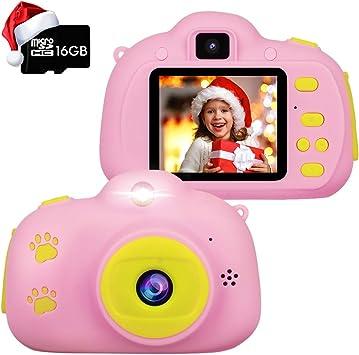 Amazon.com: RegeMoudal - Cámara digital para niños de 3 a 12 ...