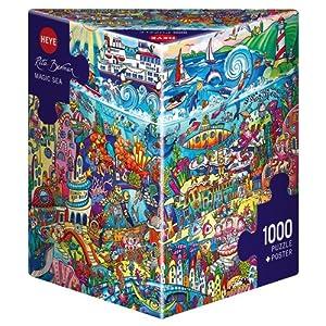 Heye 29839 Magic Sea Berman Triangular Puzzles
