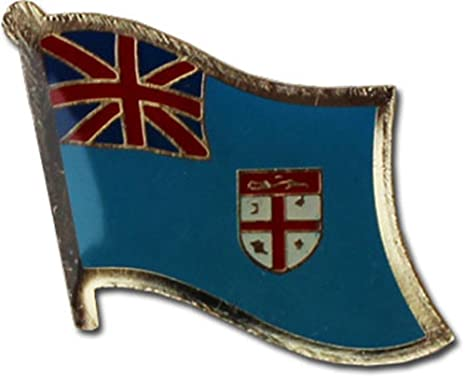 FIJI Country Flag Metal lapel PIN BADGE ..NEW