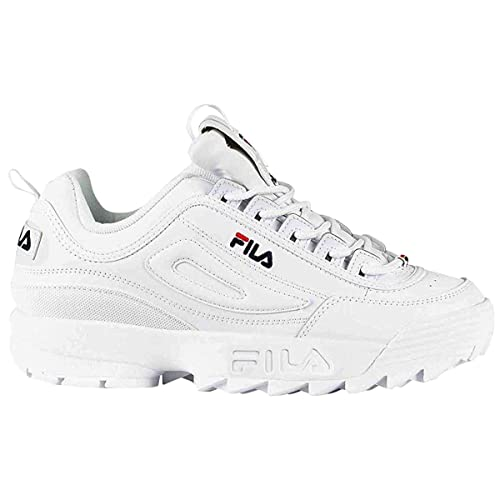 Fila Youth Disruptor II Leather Entrenadores: Amazon.es