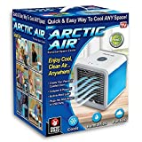 Appliances : Arctic Air Personal Space Cooler, Portable Air Conditioner, Humidifier and Purifier, Desktop Cooling Fan with 3 Speeds and 7 Colors LED Night Light for Office Home Outdoor Travel   As Seen On TV