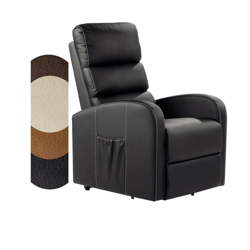 Sillón Masajeador Levantapersonas Total Relax - Disponible en varios Colores, Negro: Amazon.es: Hogar