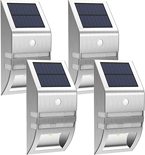 Paradise 8 Pack Solar Powered LED Accent Deck Dock Garden Lights Free Shipping