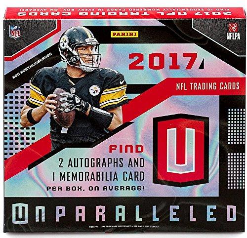 2017 Panini Unparalleled NFL Football HOBBY box (8 pk)