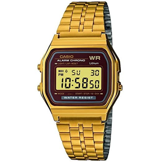 af4d0e2b02ee Casio Smart Watch Armbanduhr A159WGEA-5EF  Amazon.es  Relojes