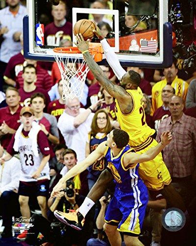 Finals Action Photo - LeBron James Cleveland Cavaliers 2015 NBA Finals Action Photo (Size: 8