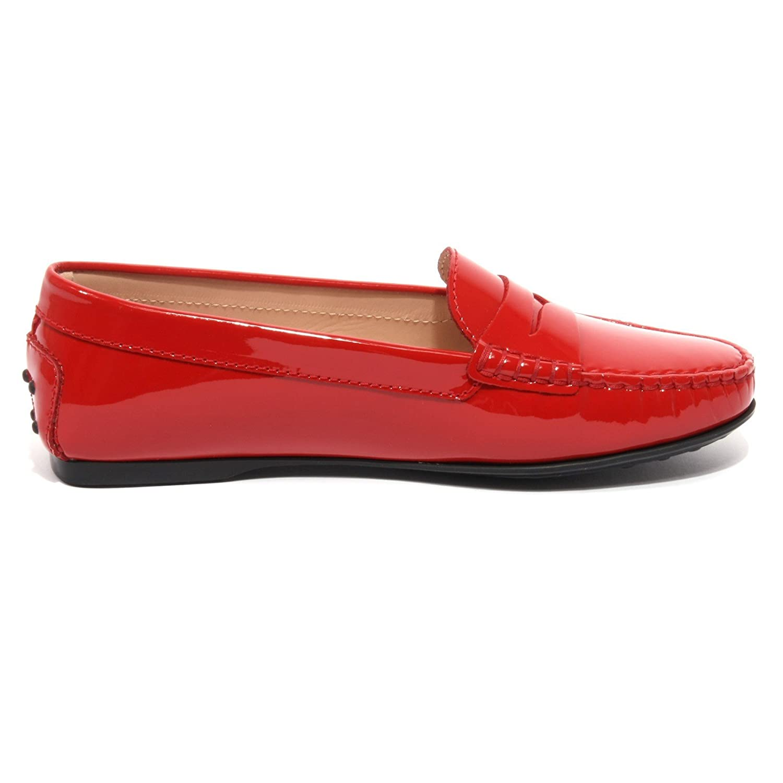 Donna Shoe Loafer Rubino Scarpa B1637 Tod's Vernice Mocassino Woman 7q5wx0U