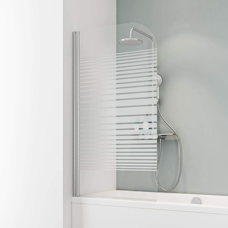 Schulte - Mampara de bañera Berlin de cristal de 1 pieza, 4056397002468: Amazon.es: Bricolaje y herramientas