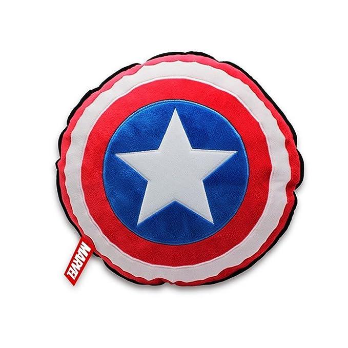 Marvel Comics - Captain America - Cojín Logo Shield - 35 cm ...