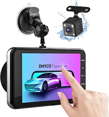 Auto Dash Cam Video Recorder Night Vision Front G-sensor Camera AO
