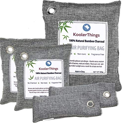 KoolerThings Bamboo Charcoal Air Purifying Bags