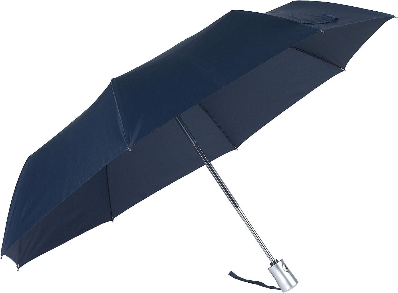 3 Section Auto Open Close Parapluie Pliant Black 28 cm Noir SAMSONITE Rain Pro