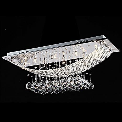CIFFOST ®Moderno Cristal De Lujo Colgantes De Diamante De ...
