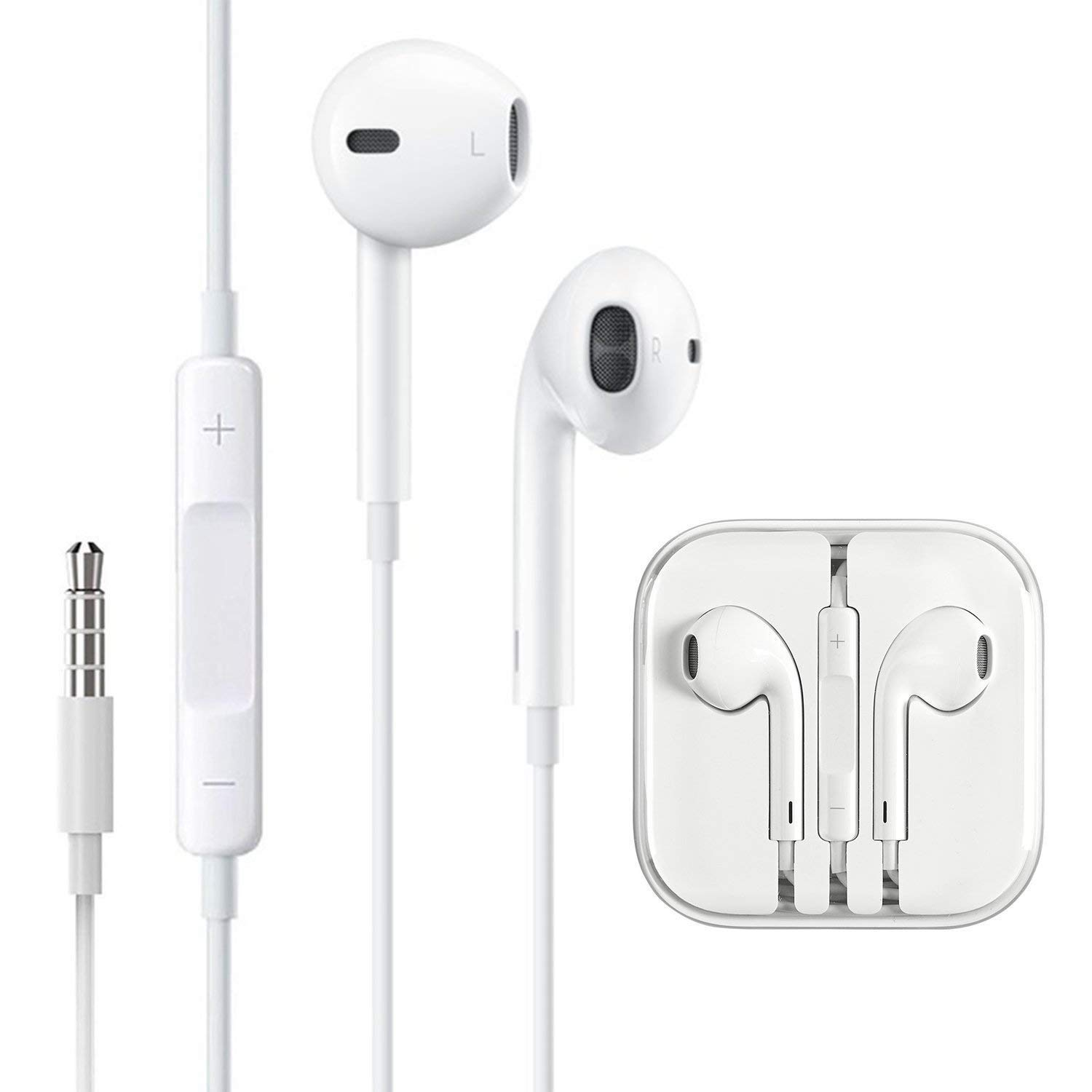 Headphones/Earphones/Earbuds, Wired Headphones Volume Control Compatible with iPhone iPod iPad Samsung/Android / MP3 MP4