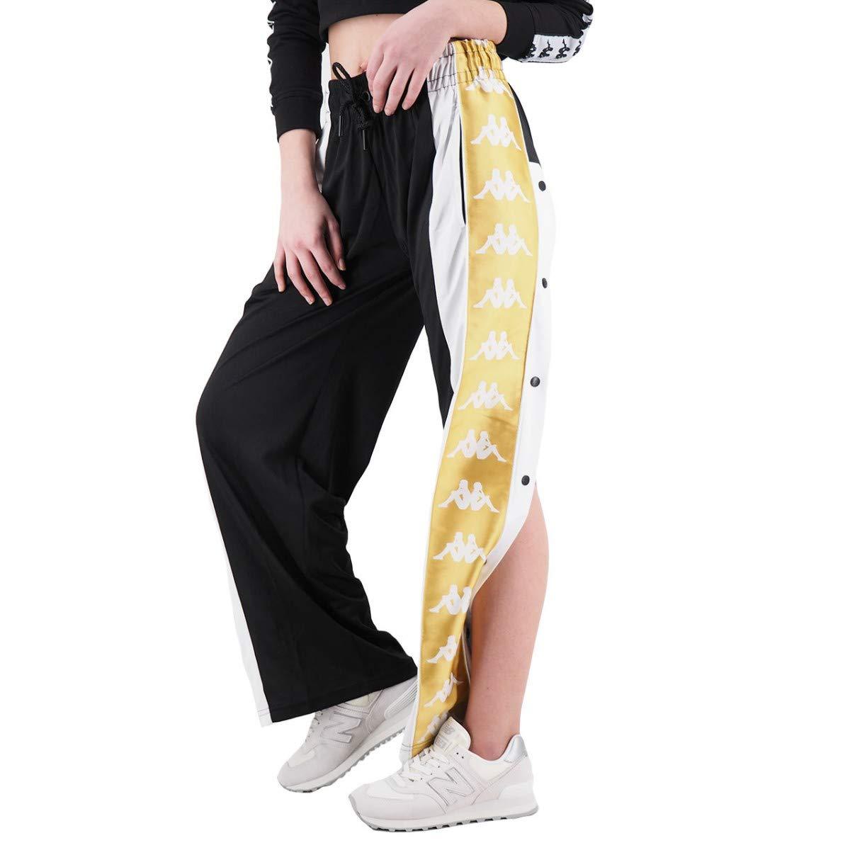 Pantalones 222 Banda 10 Negro Baish Kap 304i780 915 Kappa Ropa Brandknewmag Com
