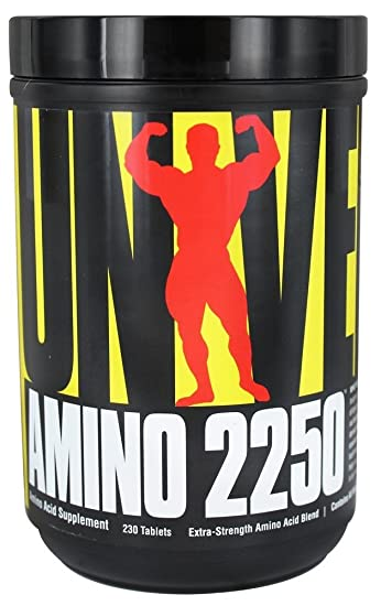 Universal Nutrition Amino Supplyment, 2250, 230 Count