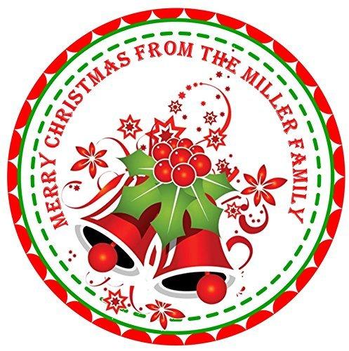 amazon com christmas sticker labels christmas card labels handmade