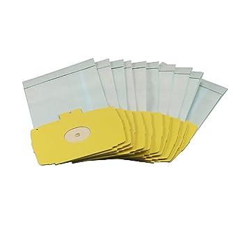 10 x Bolsas de aspiradora bolsas para aspiradora Electrolux D728 D729, D730, D738, D739 D740