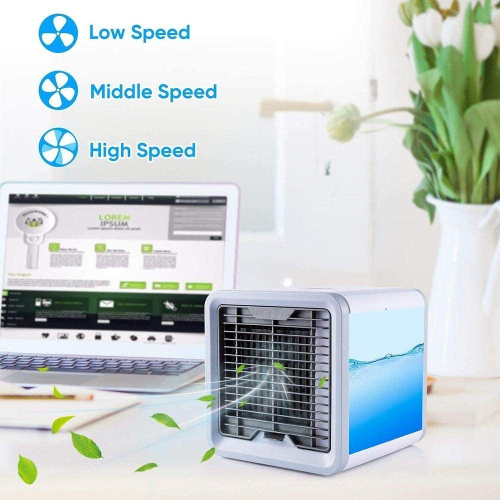 Sprint4Deals Personal Portable Air Conditioner - 3 in 1 Portable Evaporative Air Cooler Humidifier & Purifier