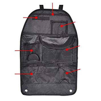 f370f44f8ba6 Creazy® Car Auto Care Seat Protector Cover Storage Bag Pouch for Children  Kick Mat Mud