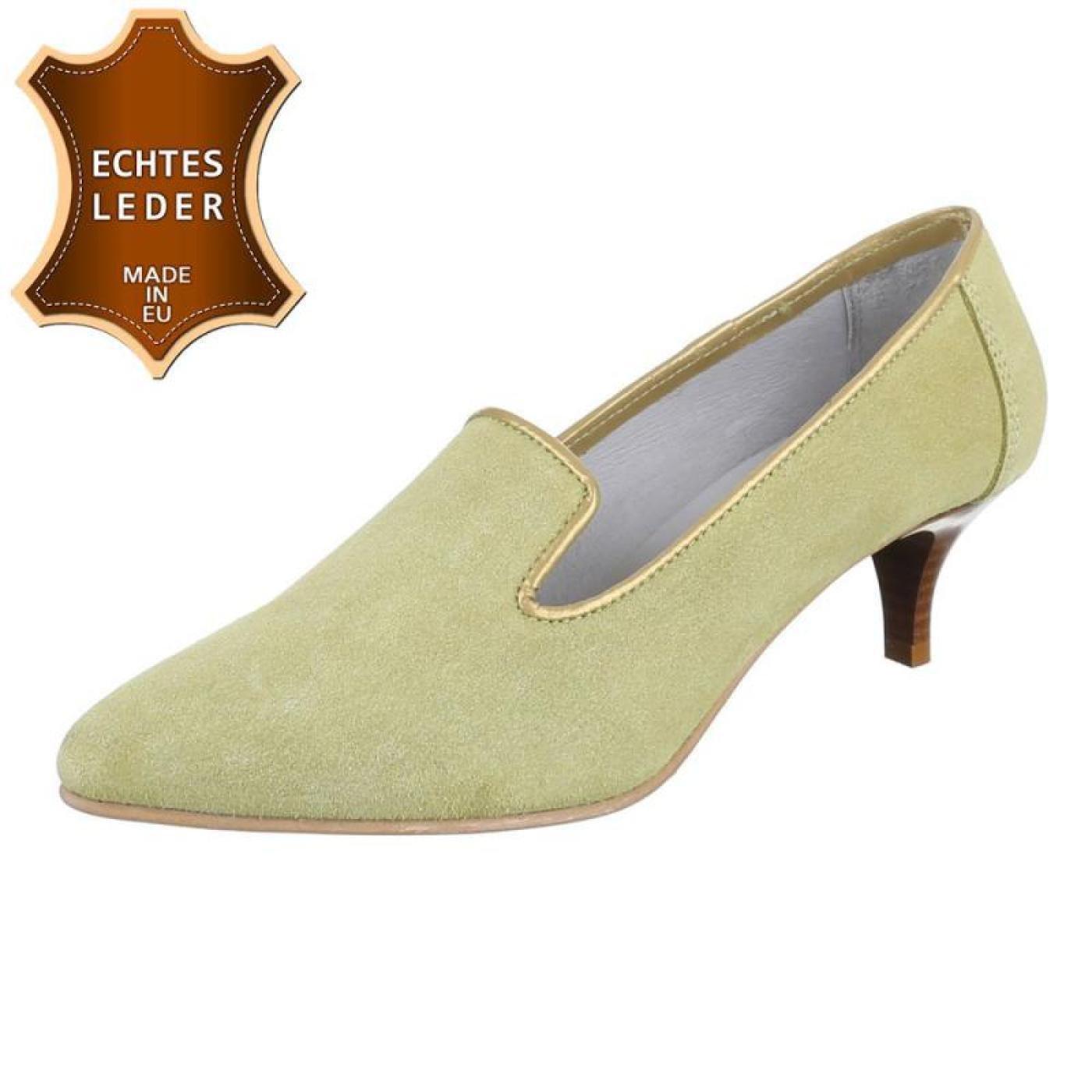 Cingant Woman Damen Damen Damen Pumps/Trichterabsatz/High Heels/Damenschuhe/Elegante Schuhe/Leder/Lemon/Beige - 71e5d0
